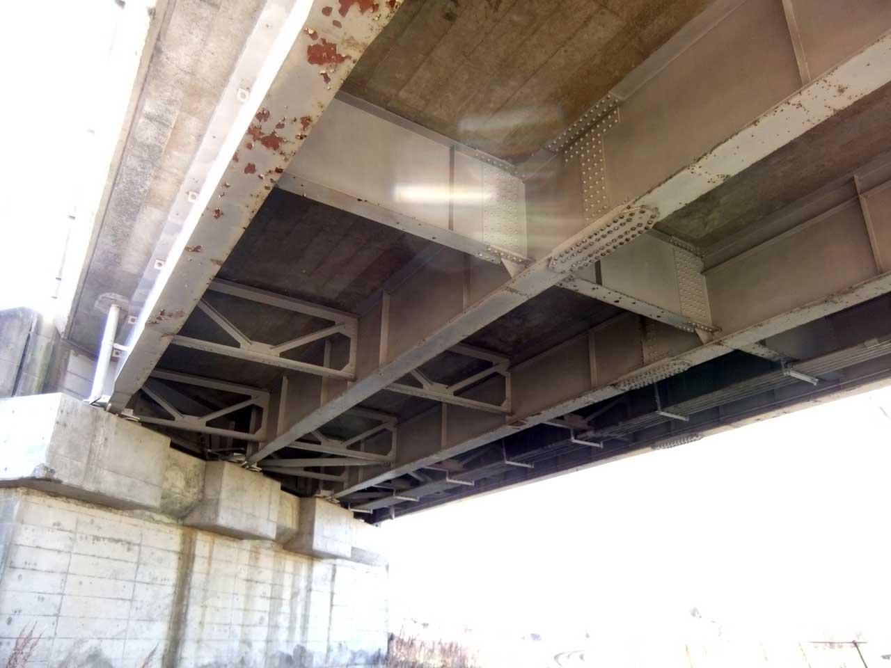 跨線橋の点検
