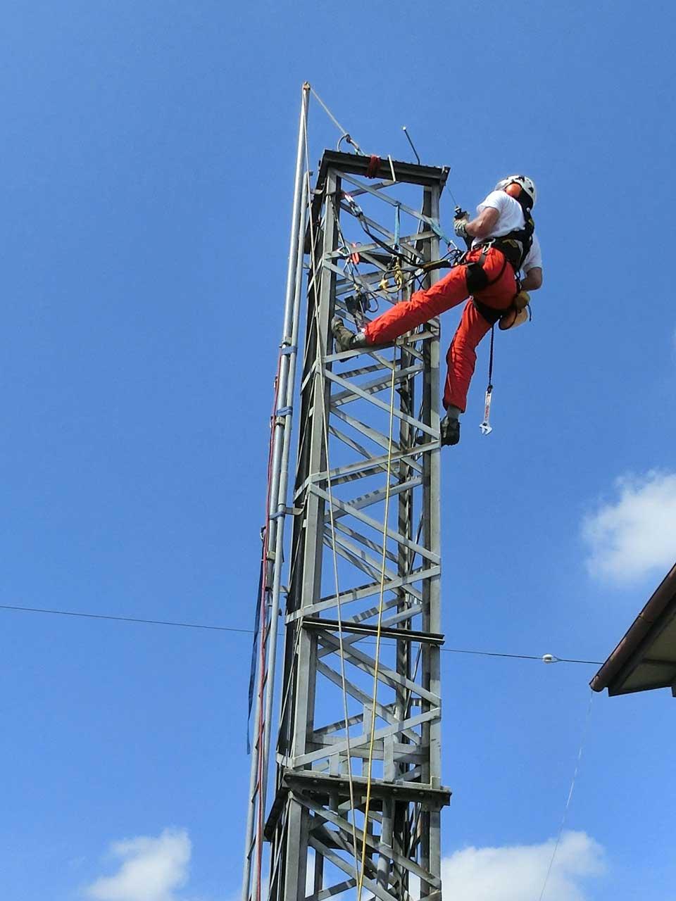 クランクアップタワーの解体撤去工事