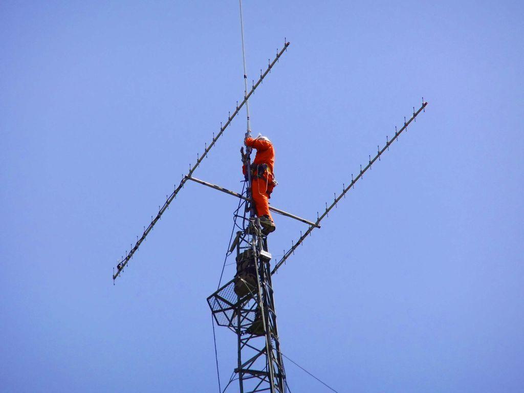 アマチュア無線のアンテナ・鉄塔撤去