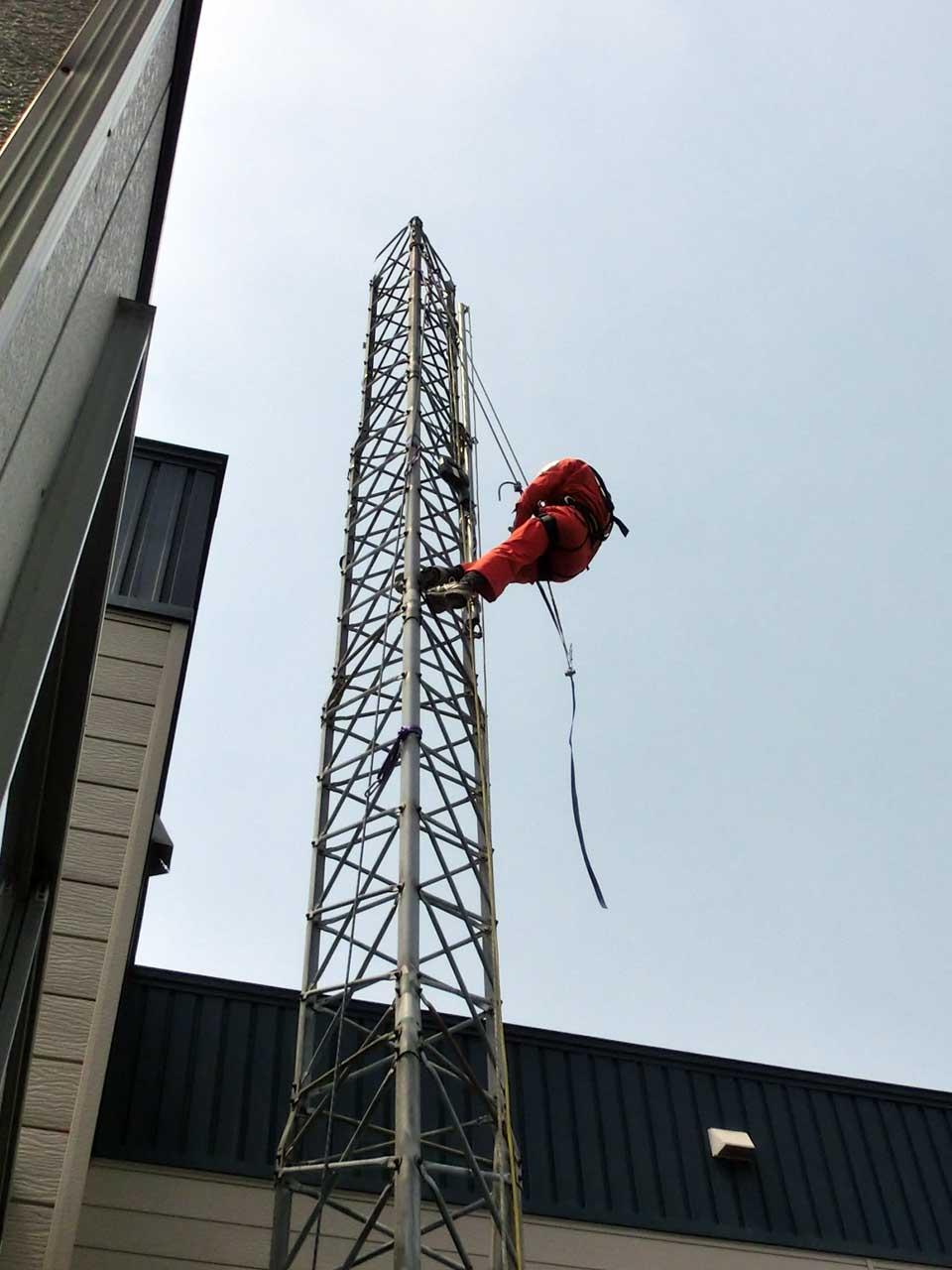 北海道札幌市でアルインコタワーの解体・撤去工事