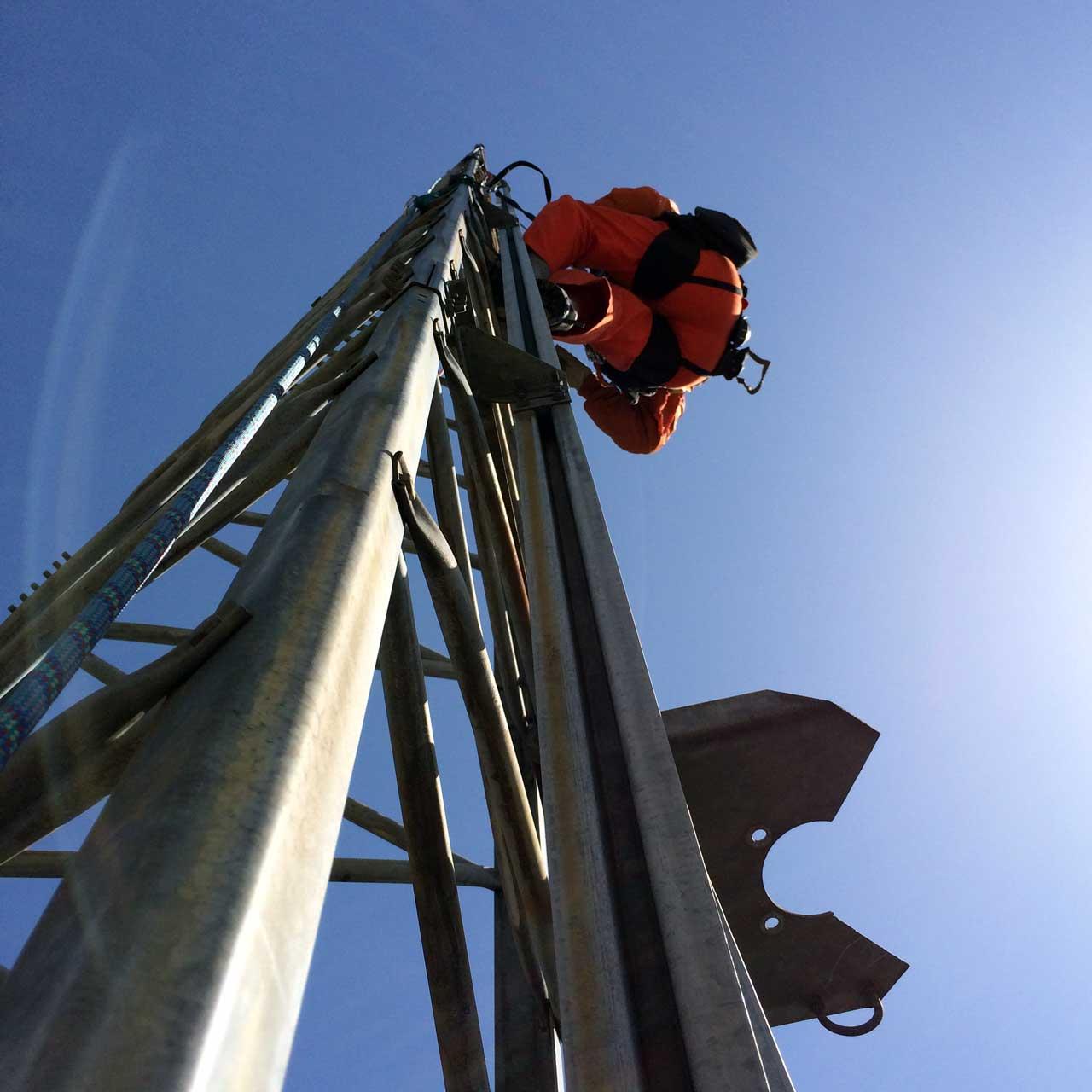 愛知県名古屋市のクリエートタワー撤去工事