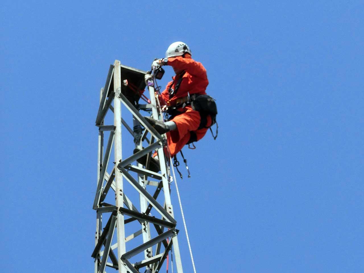 埼玉県羽生市でのDXタワーの解体・撤去工事