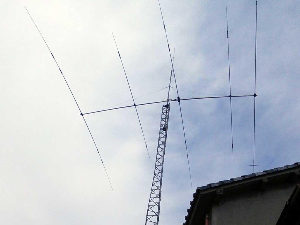 群馬県高崎市のアンテナ解体・鉄塔撤去工事