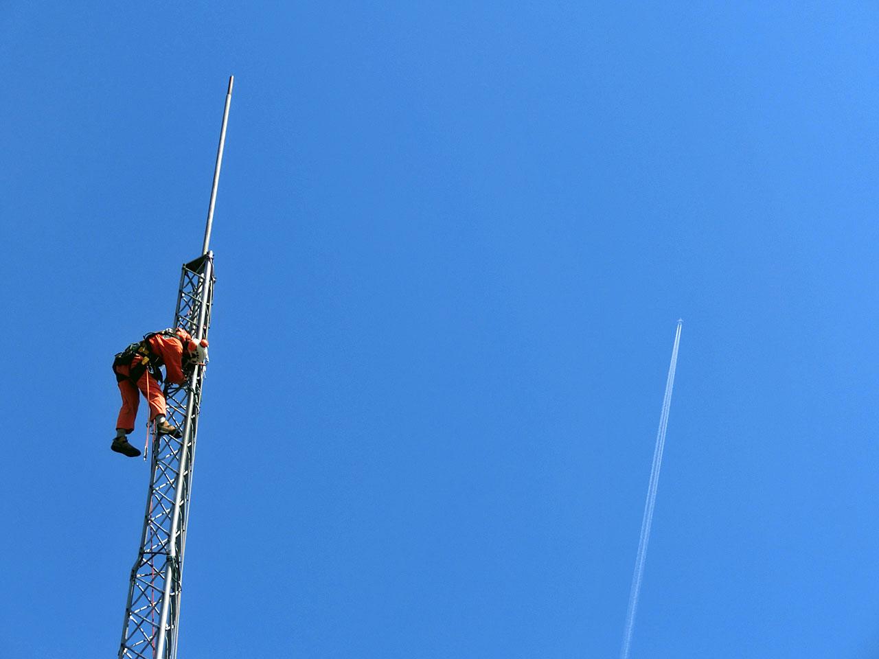 アルインコタワー撤去工事:岩手県花巻市