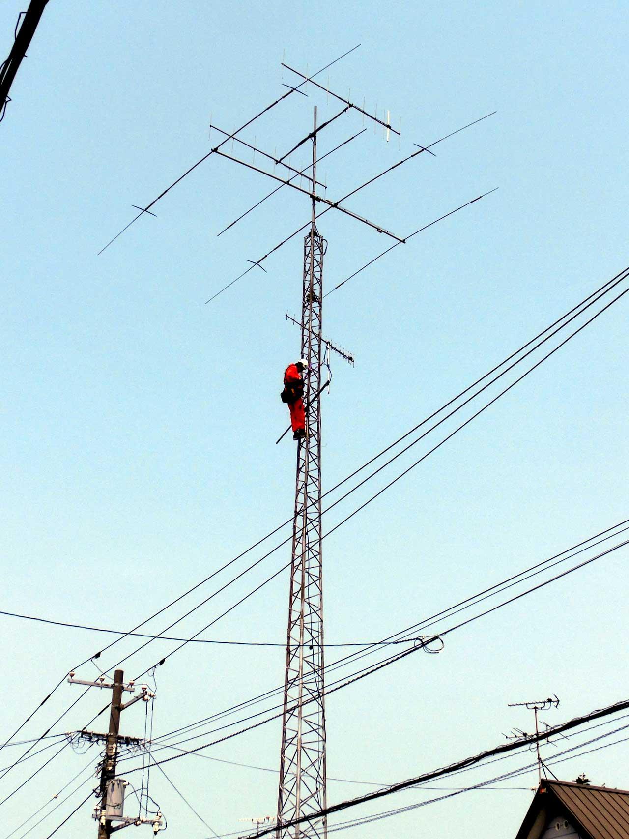 北海道札幌市でクリエートタワーの解体・撤去工事