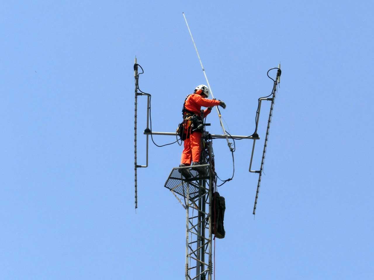 埼玉県加須市でクリエートタワーの解体・撤去工事