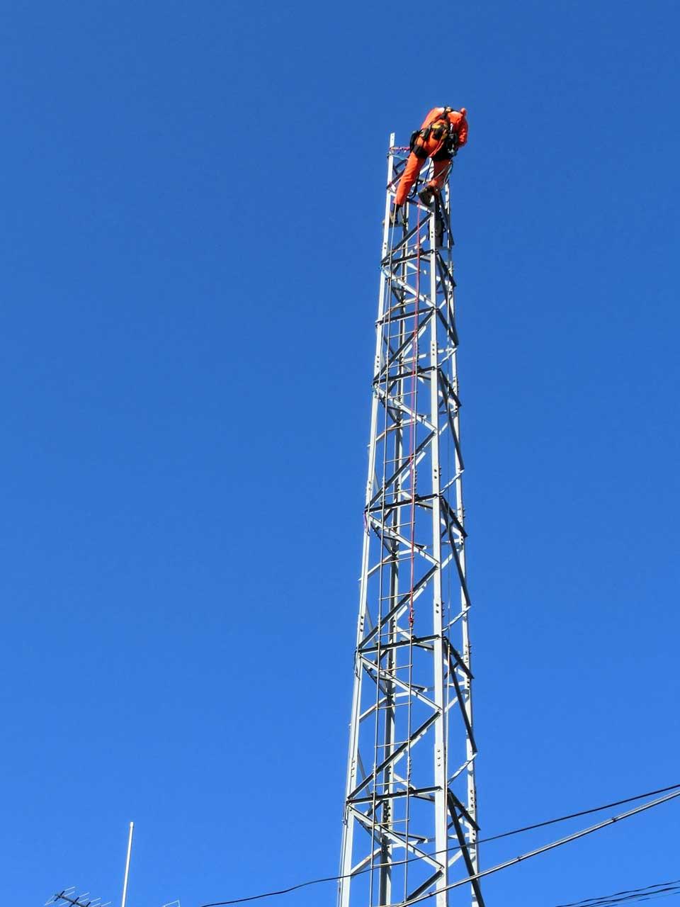 埼玉県さいたま市でDXタワー撤去工事を行いました