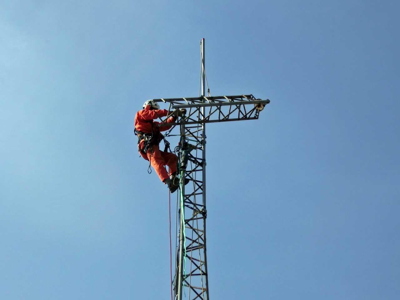 兵庫県姫路市でのクリエートタワー撤去工事