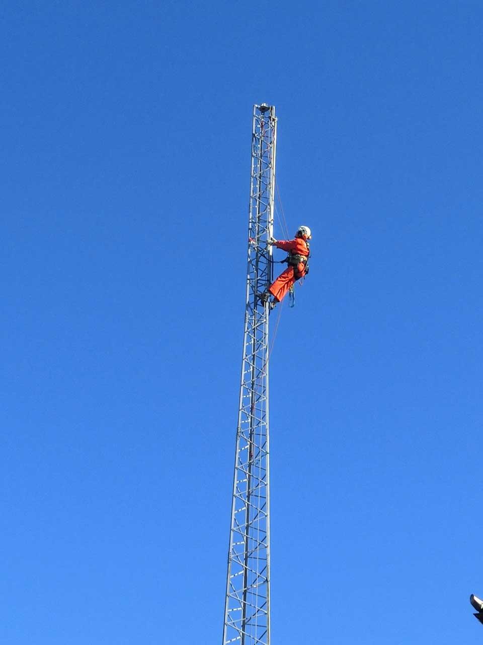 撤去可能な鉄塔:クリエートタワー